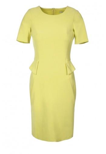 Sukienka Sofia żółty...