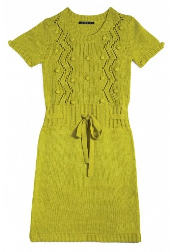 Sukienka z kuleczkami...