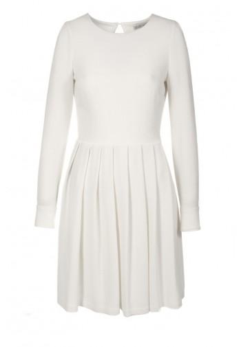 Sukienka Elodia biały mleczny