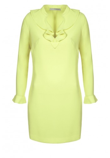 Sukienka Żaneta cytrynowy...