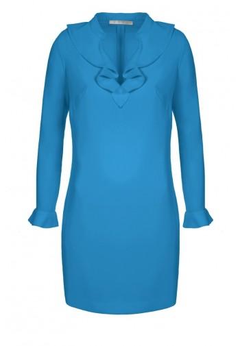 Sukienka Żaneta lazurowy...