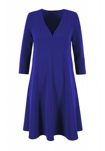 Sukienka Eilika kobaltowy