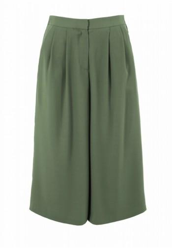 Spódnico-spodnie Anzela khaki