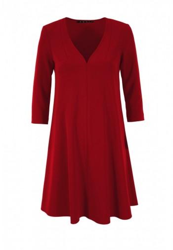 Sukienka Eilika czerwony