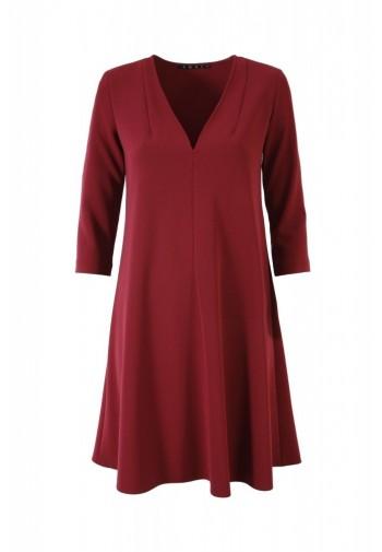 Sukienka Eilika burgundowy
