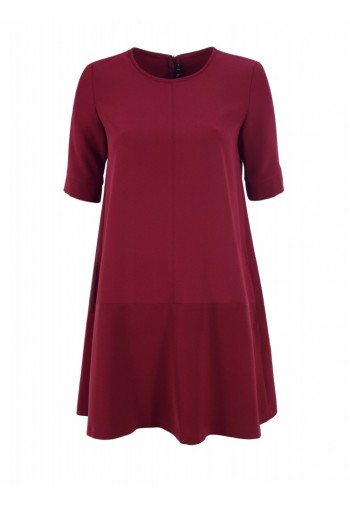 Sukienka Loreta burgundowy