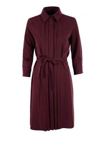 Sukienka Maisie burgundowy