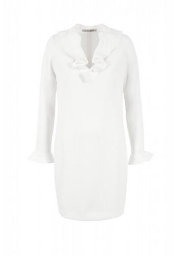 Sukienka Żaneta biały mleczny