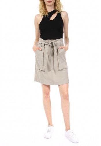 Spódnica Lupita khaki jasny