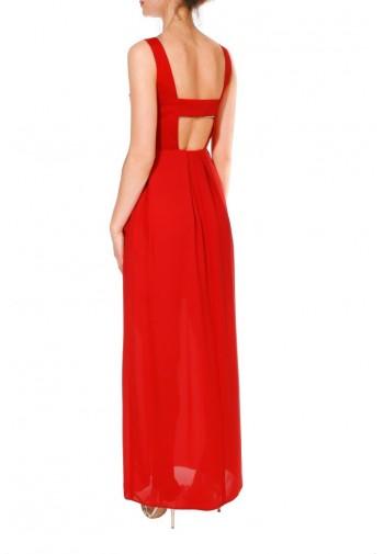 Sukienka Jazzlyn maxi czerwony