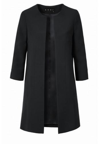 Płaszcz Calanthe czarny