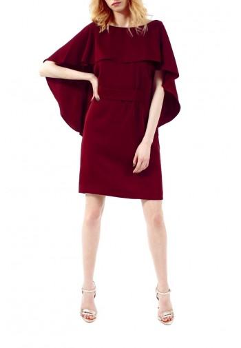 Sukienka Vasilisa burgundowy