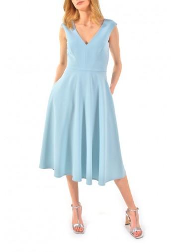 Sukienka Adrianna błękitny...