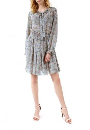 Sukienka Zoja niebiesko-różowy