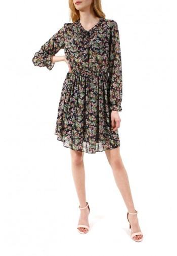 Sukienka Zoja granatowo-różowy