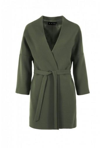 Płaszcz Auri khaki ciemny