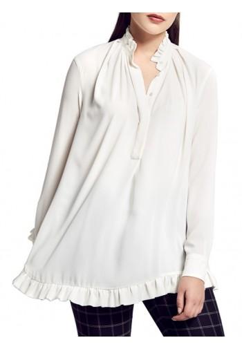 Bluzka Regina biały mleczny