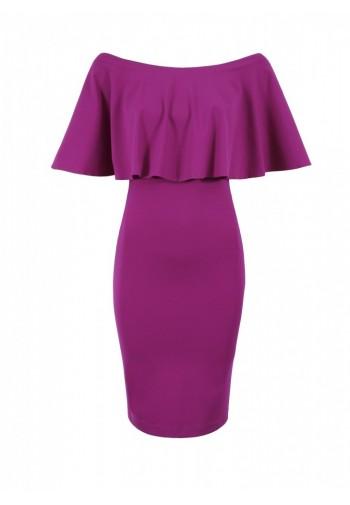 Sukienka Vera amarantowy