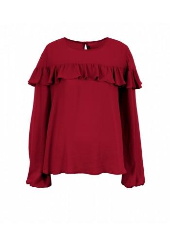 Bluzka Santia czerwony