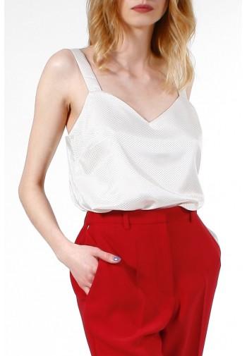 Bluzka Sylvie kremowy