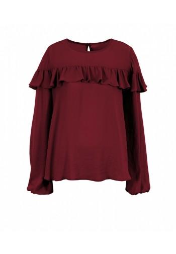 Bluzka Santia burgundowy