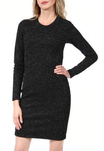 Sukienka Verena czarno-srebrny