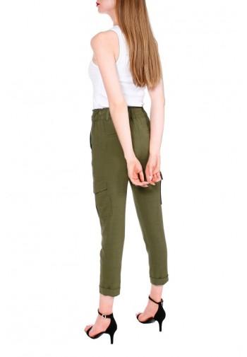 Spodnie Abrielle khaki