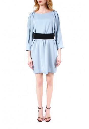 Sukienka Gertrude błękitny