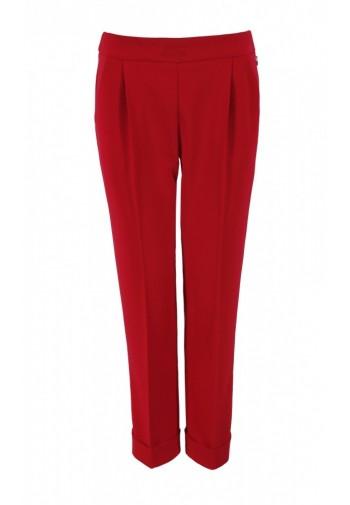 Spodnie Manea czerwony