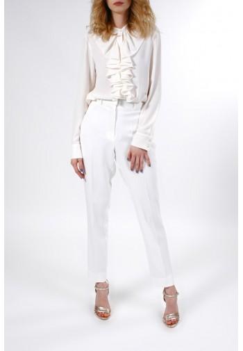 Bluzka Kathriona biały mleczny