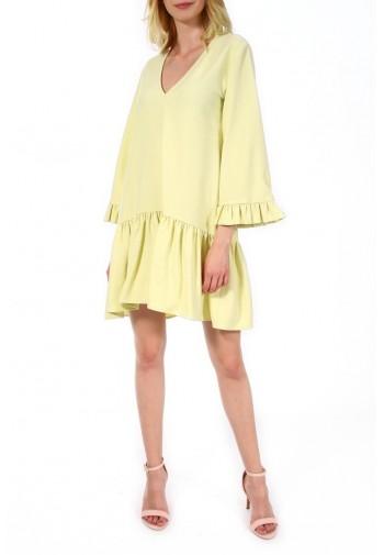 Sukienka Henrietta cytrynowy