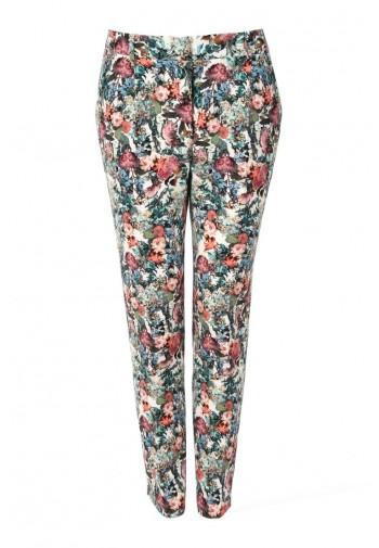 Spodnie Zita kwiaty...