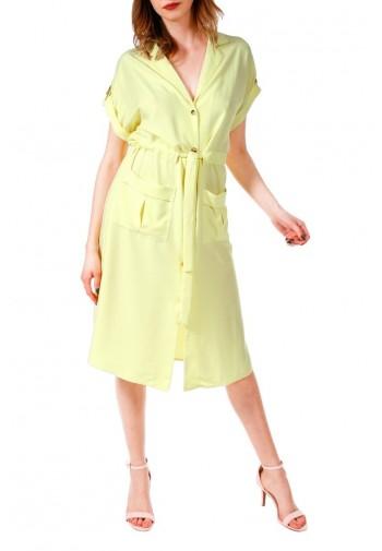 Sukienka Calista cytrynowy...