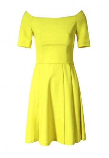 Sukienka Maricel limonkowy
