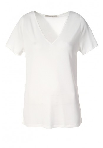 Bluzka Marina biały mleczny