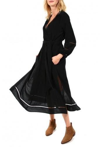Sukienka Ivonne midi czarny