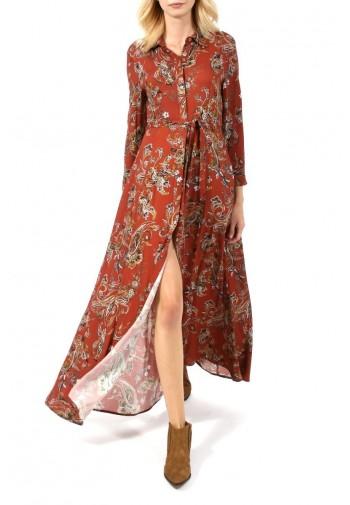 Sukienka Yana cynamonowy