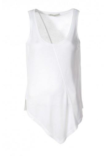 Bluzka Afia biały mleczny