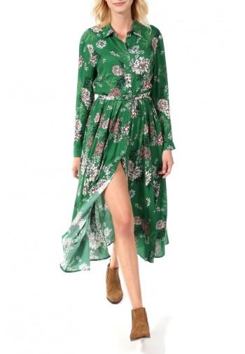 Sukienka Tessa zielono-różowy
