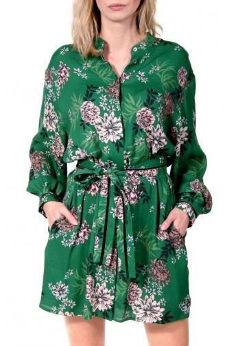 Sukienka Chelsy zielono-różowy