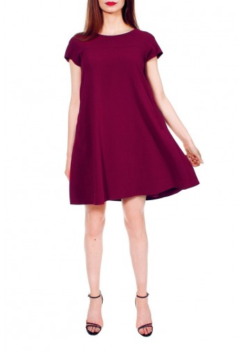 Sukienka Lyneve burgundowy