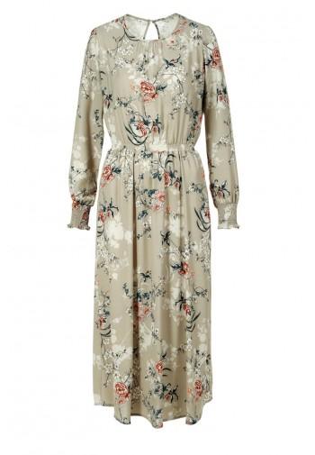 Sukienka Liliana midi beżowy