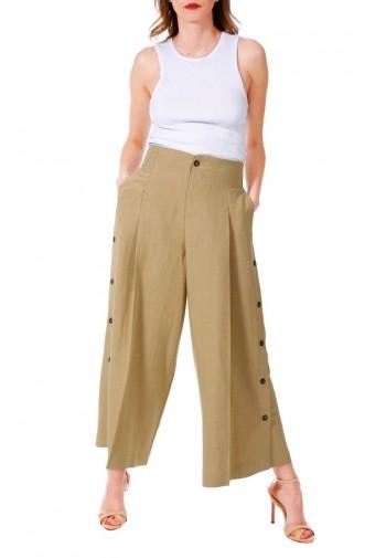 Spodnie Cloe piaskowy