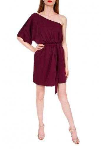 Sukienka Cristiana burgundowy
