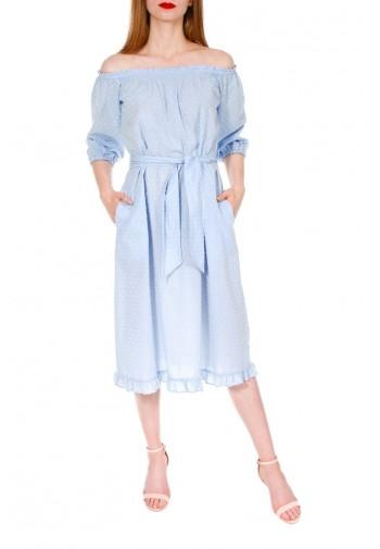 Sukienka Marina błękitny jasny
