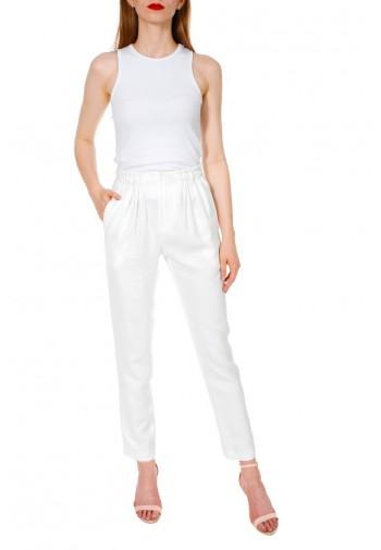 Spodnie Eirlys biały
