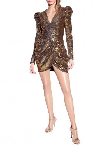Sukienka Arlene Rich Gold