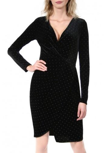 Sukienka Dolly czarno-srebrny