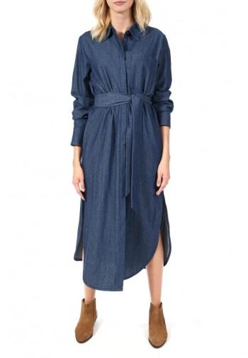 Sukienka Trina jeans granatowy