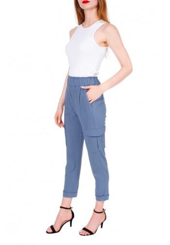 Spodnie Abrielle niebieski